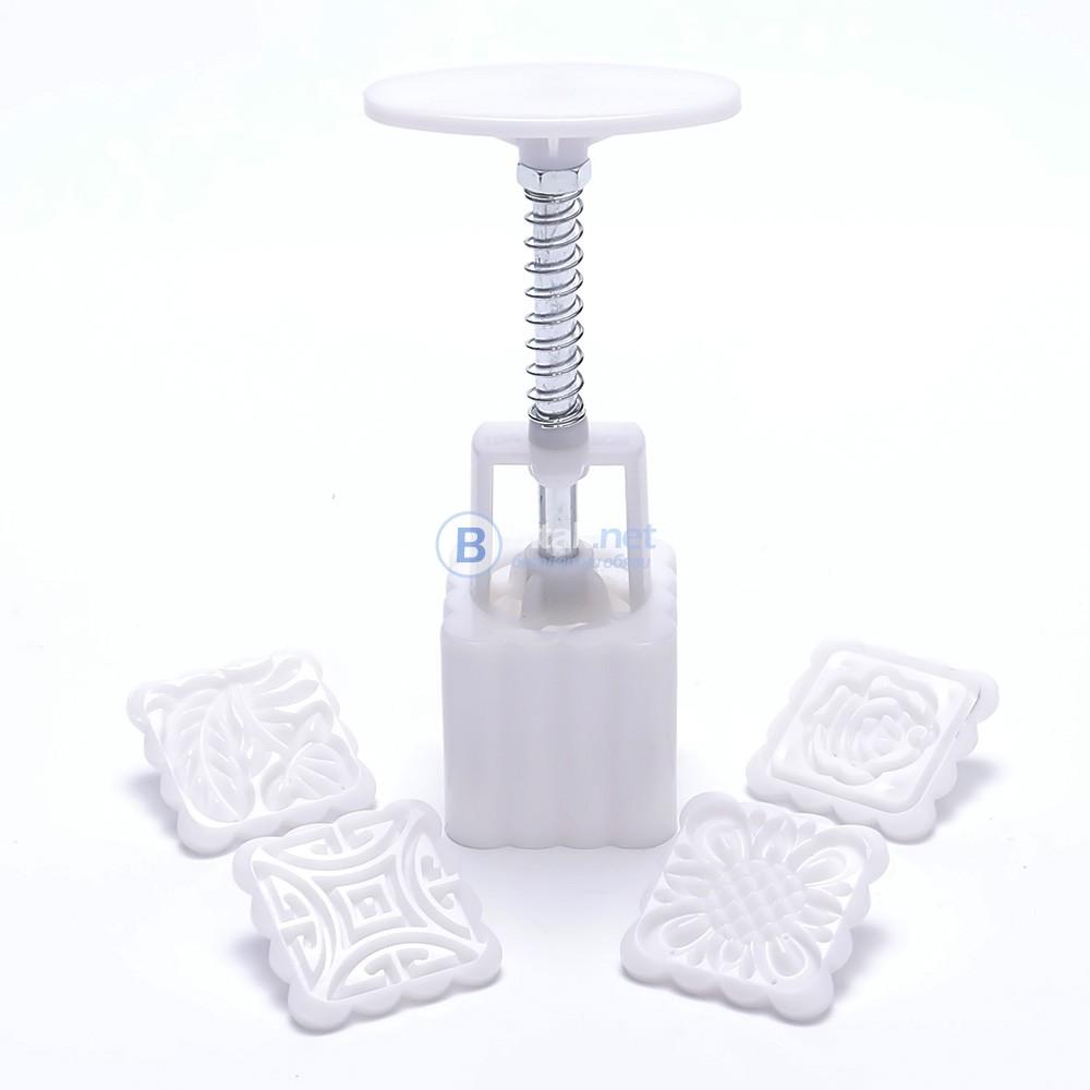 Преса за сладки с пълнеж - 4 приставки за различни модели (релефи)