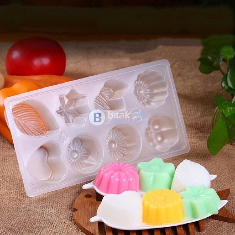 3D Форма за домашни бисквитени бонбони, шоколад, желе, пудинг