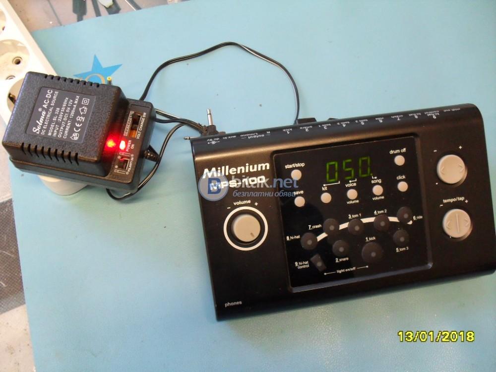 MILENIUM MPS-100 -модул за барабани и 4 ел. пада