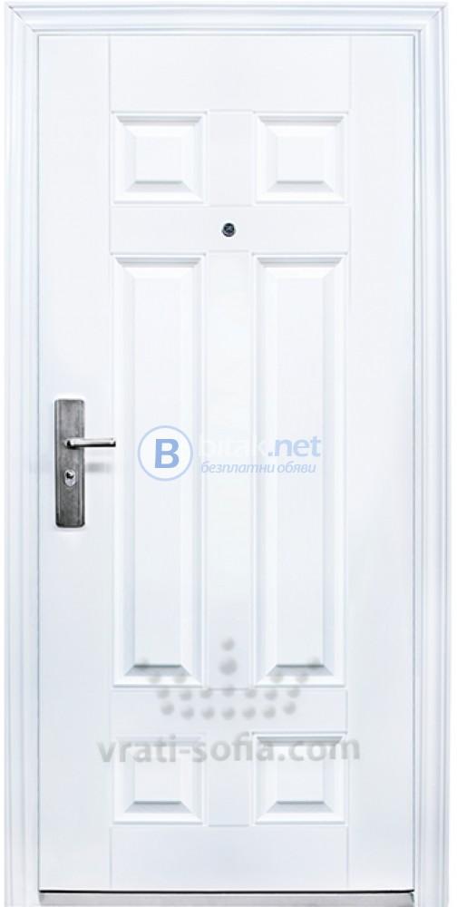 Метална входна врата Модел 666
