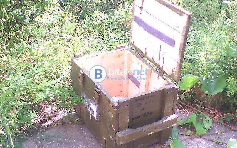 Военни сандъци,подходящи за пчелни кошери и отводки