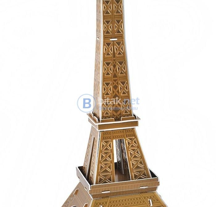 3Д пъзел, 3Д мозайка Айфелова кула