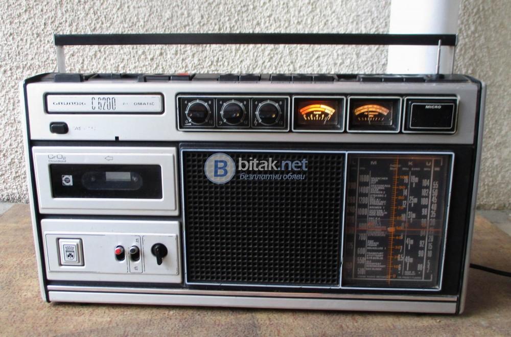 GRUNDIG C6200 – Качествен немски радиокасетофон.