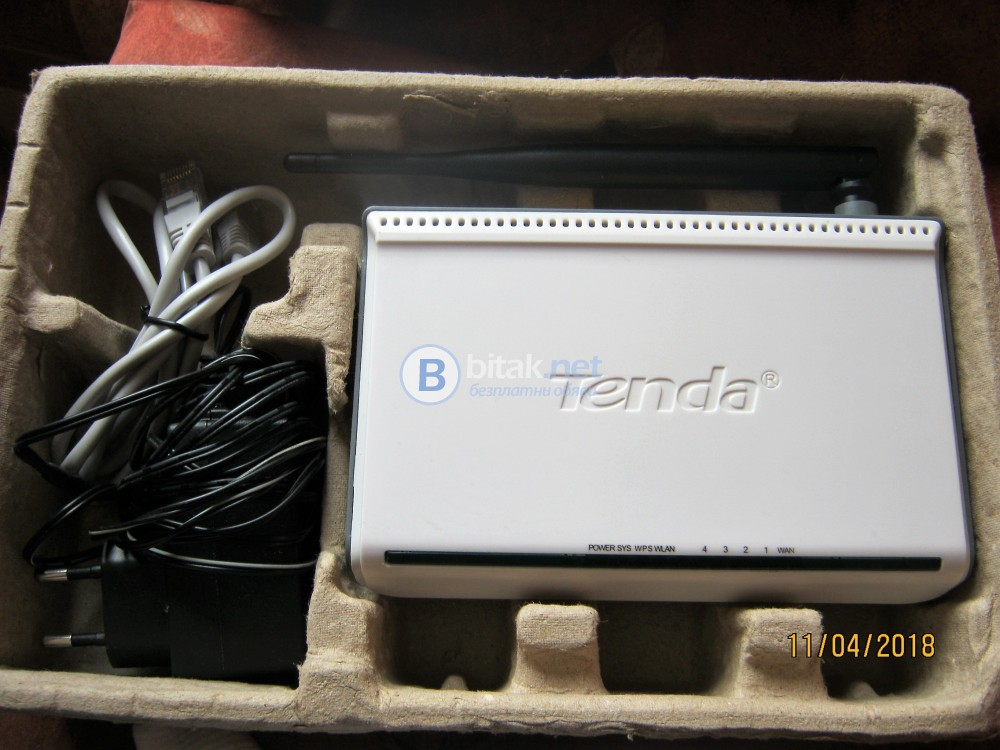 Тenda-N-150Mbps-Wireless N Boardband ruter-model:W311R