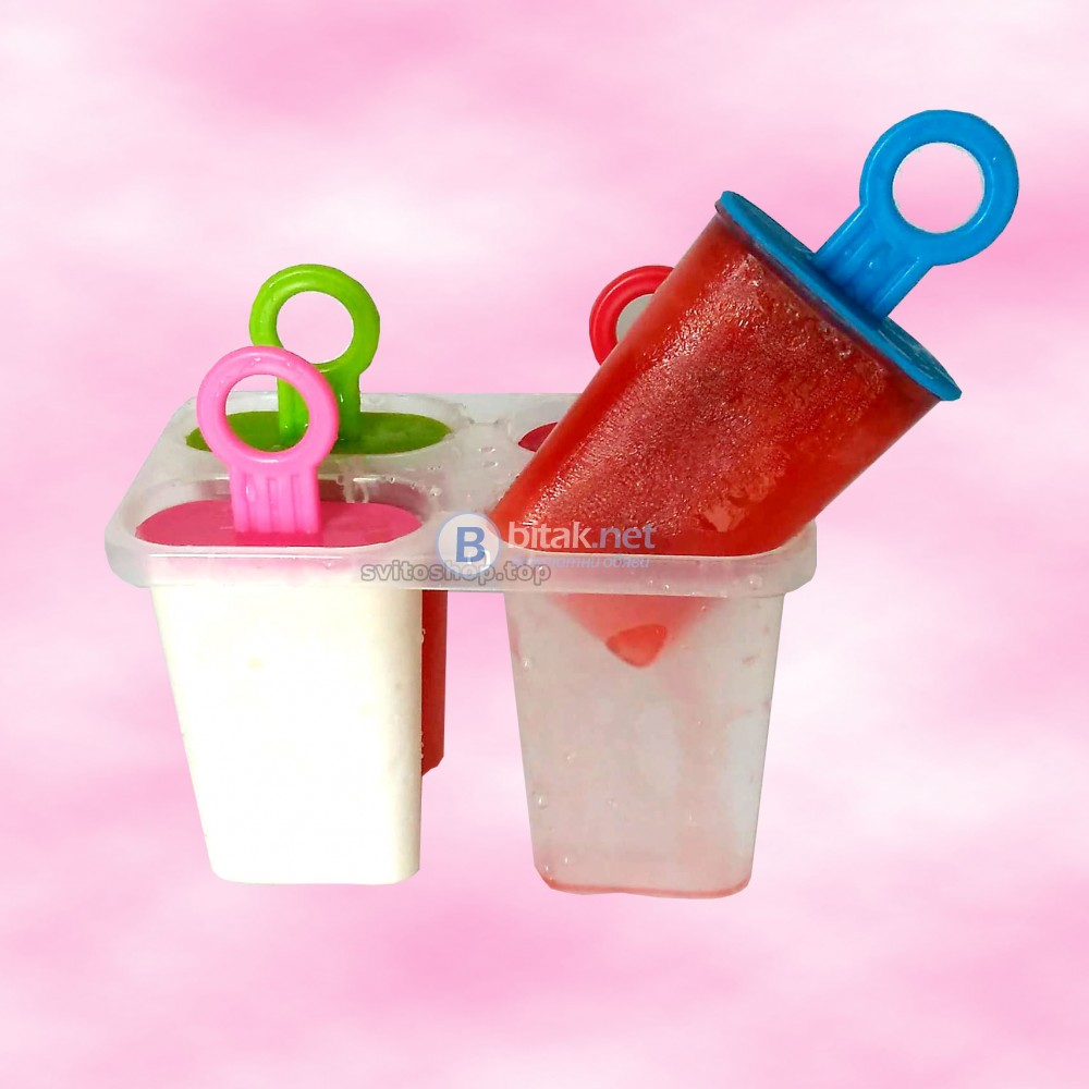 Форми за домашен сладолед на клечка формички за ледени близалки