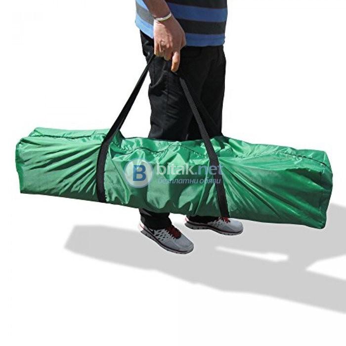 Водонепромукаема чанта за пренасяне на сгъваема шатра или други аксесоари 145х23х23 см