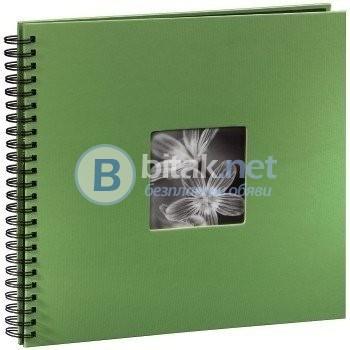 Фотоалбум Хама / Hama 50 страници 32х36 см / 300 снимки 10х15 см, албум за снимки, фото албум, зелен