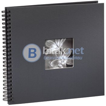 Фотоалбум Хама / Hama 50 страници 32х36 см / 300 снимки 10х15 см, албум за снимки, фото албум, тъмно