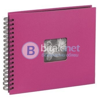 Фотоалбум Хама / Hama 50 страници / 100 снимки 10 х 15 см, албум за снимки, фото албум, розово-лилав