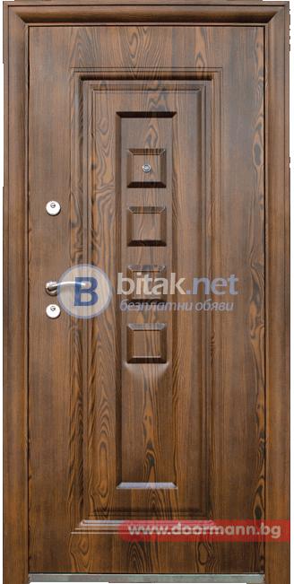 Метална входна врата 802-7