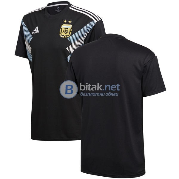 Аржентина - гостуващ черен екип 2018/2020