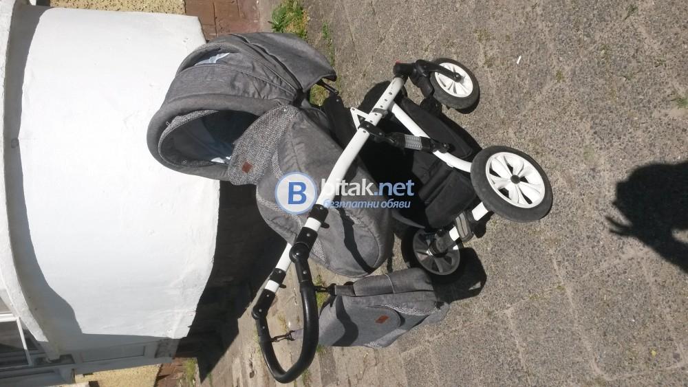 Lorelli Mia 2в1 - Детска количка с въздушни гуми