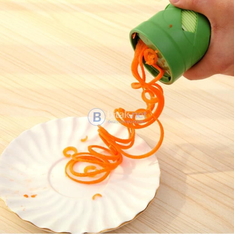 Кухненско ренде за белене уред за декорация на краставици и моркови