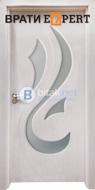 Интериорна врата Gama 203, цвят Перла