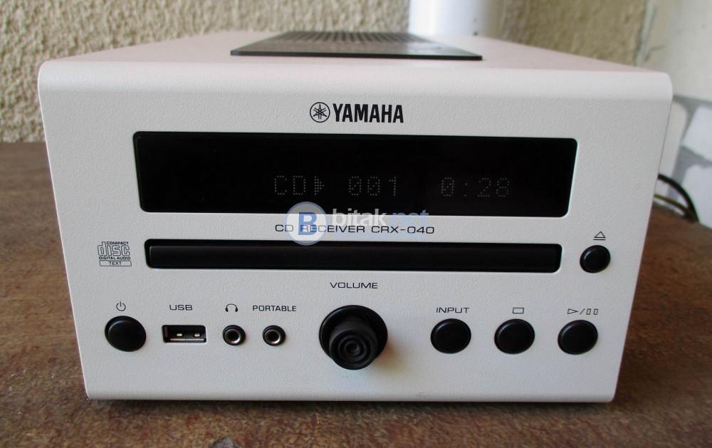 YAMAHA CRX-040 – Компактен СД ресивър.