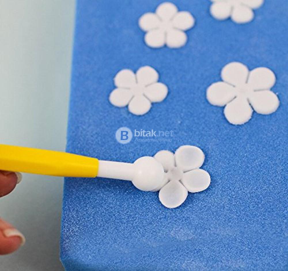 Сладкарски инструменти за декорация на торти сладкиши моделиране на фондан