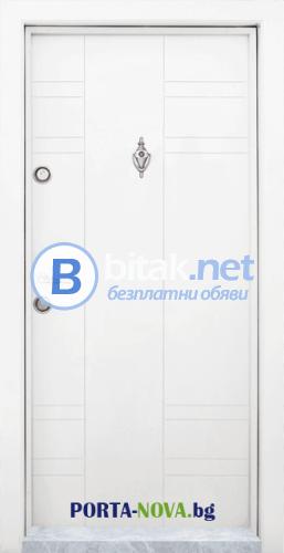 Блиндирана входна врата модел T-598 Купи на изплащане с TBI