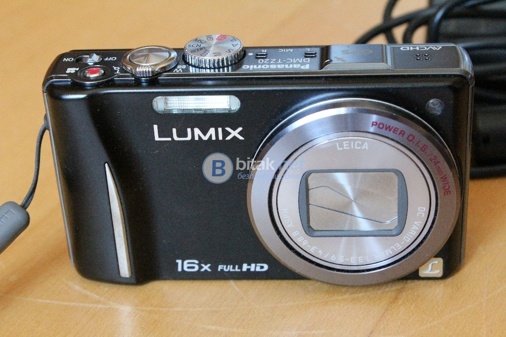 Цифров фотоапарат Panasonic Lumix DMC-TZ20