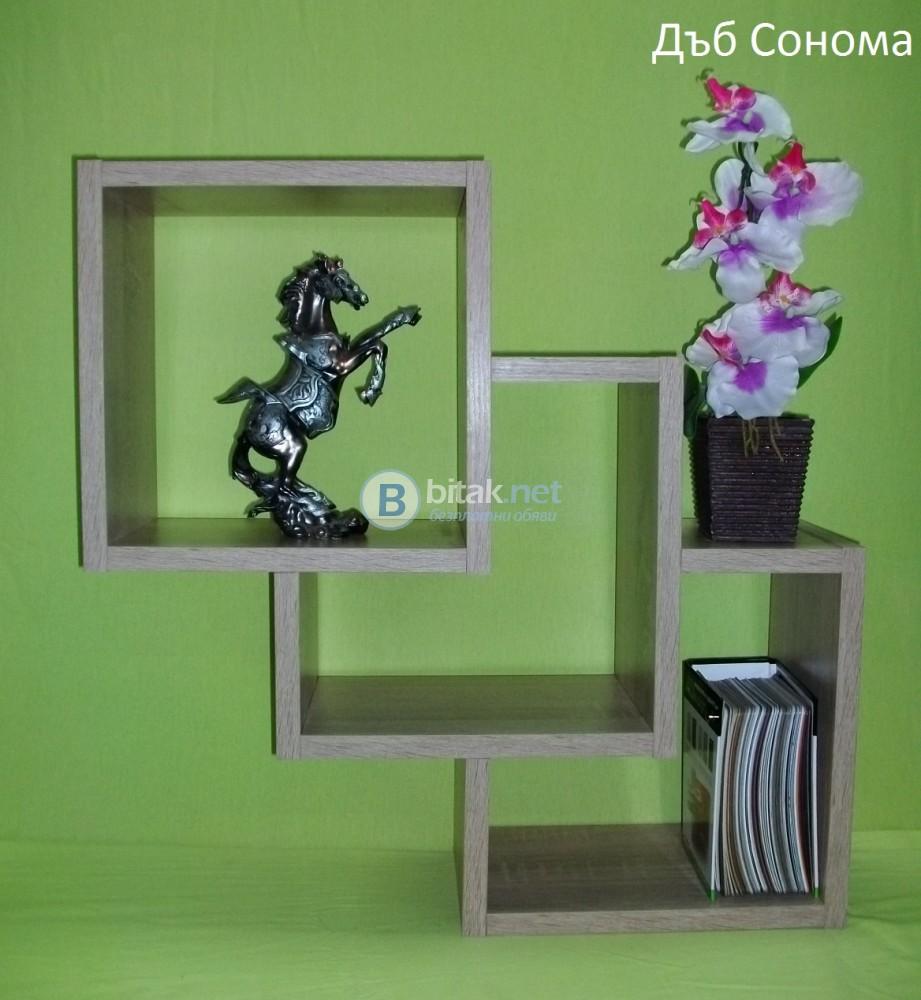 Етажерка за стена - Дъб Сонома