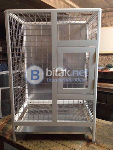 Продавам алуминиеви клетки за папагали