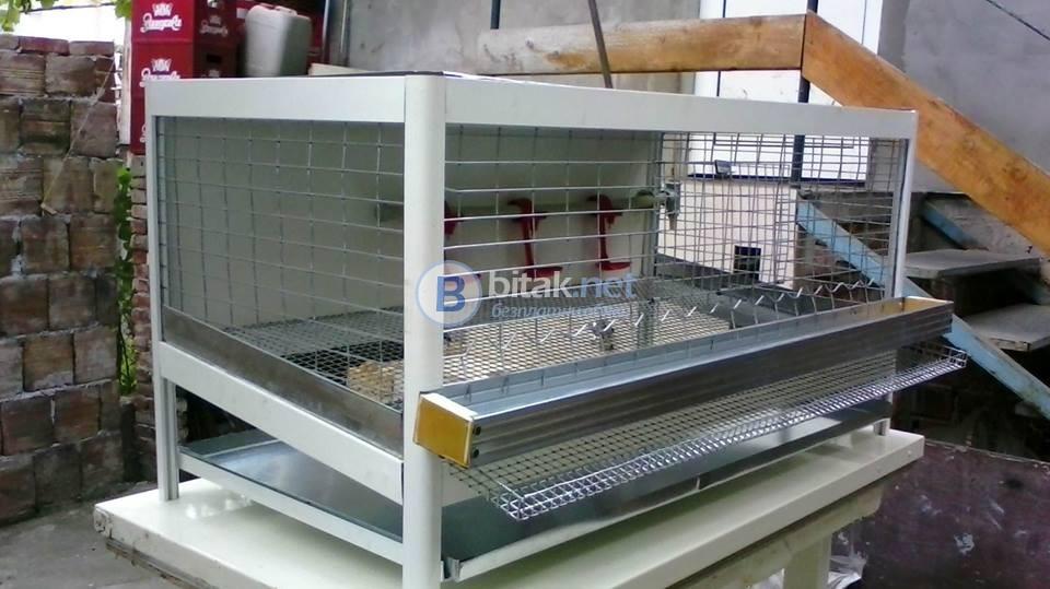 Продавам алуминиеви клетки за пъдпъдъци и кокошки носачки