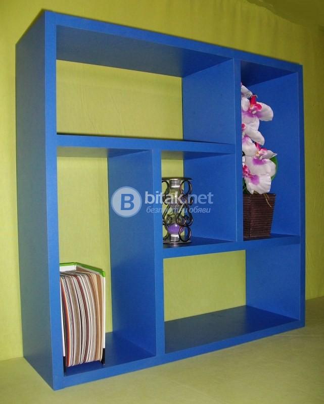 Етажерка за стена - Синя Мави