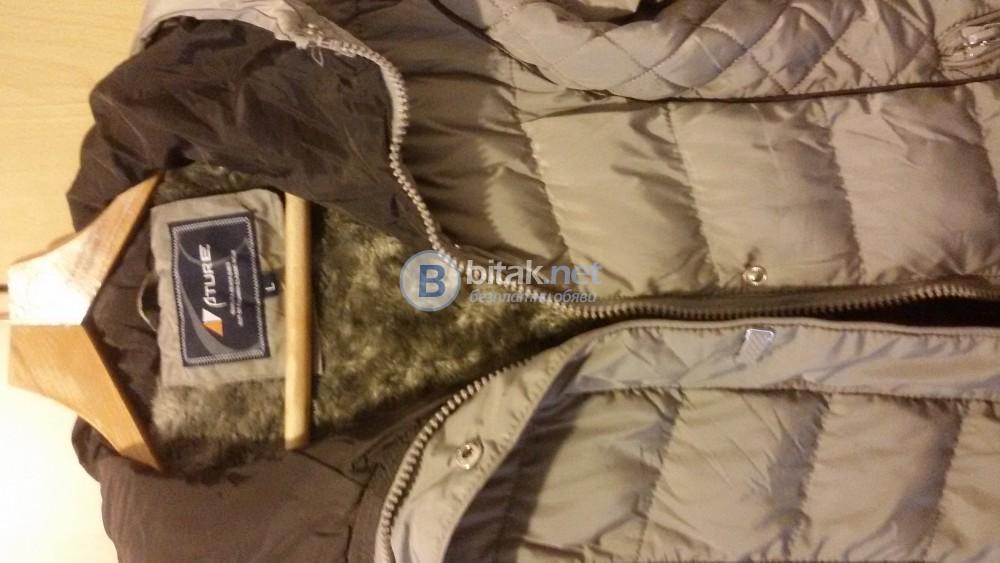 Дамско зимно яке с качулка Доставка За сметка на купувача