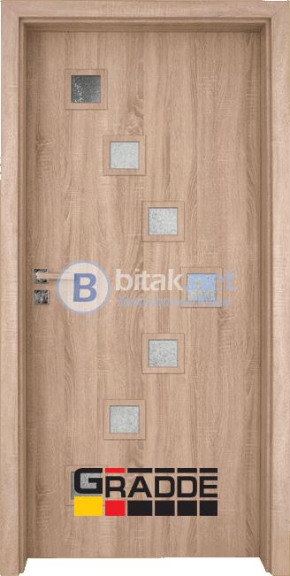 Интериорна врата Gradde Zwinger, Graddex Klasse A