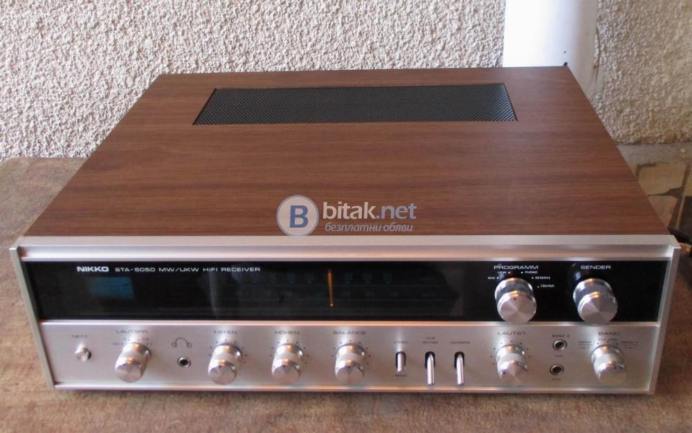 NIKKO STA 5050 – Колекционерски красавец,стерео ресивър от 1975 г. като нов.