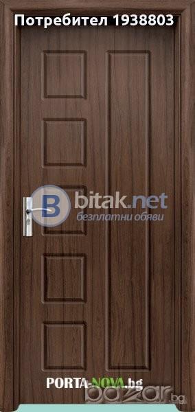 Интериорна HDF врата модел 048-P
