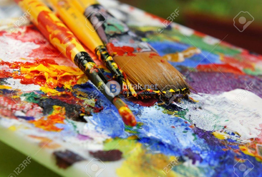 Давам частни уроци по рисуване  и живопис