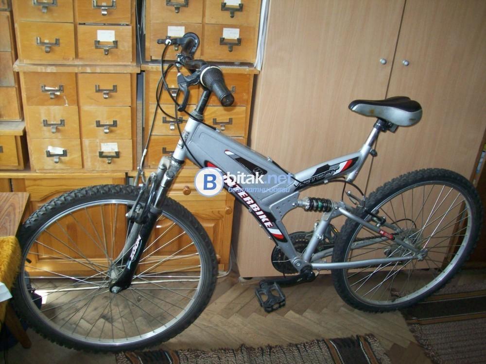 НАМАЛЕНИЕ!-велосипед ВИКТОРИ с амортисьори