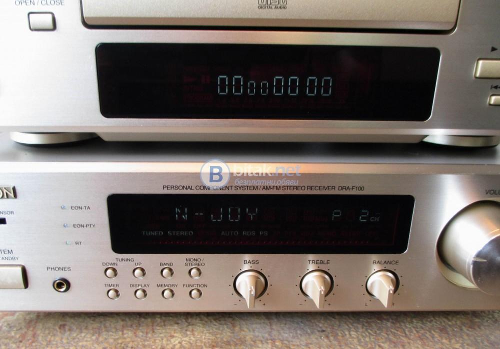 DENON DRA-F100,DCD-F100 – Аудио система от висок клас.