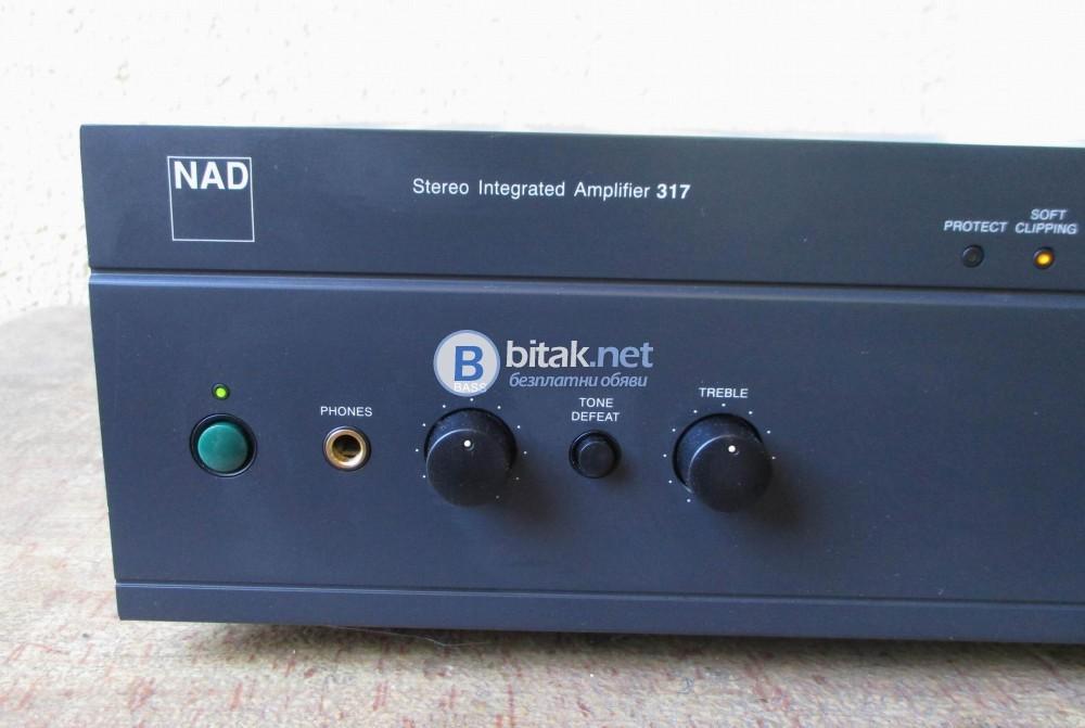 NAD 317 – Качествен усилвател с много възможности.