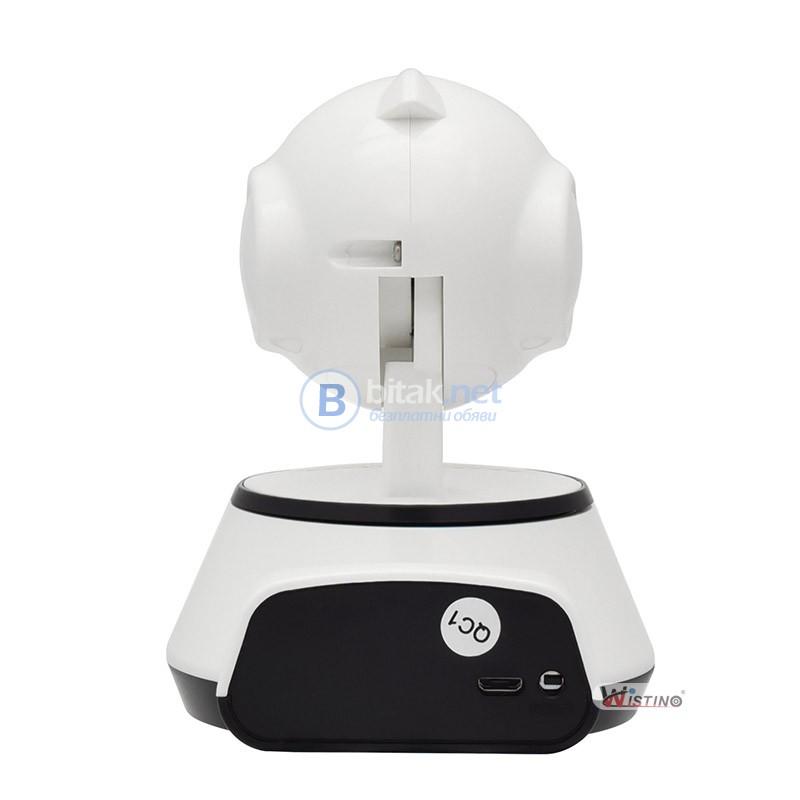 Моторизирана Wireless Wifi камера за наблюдение Wistino