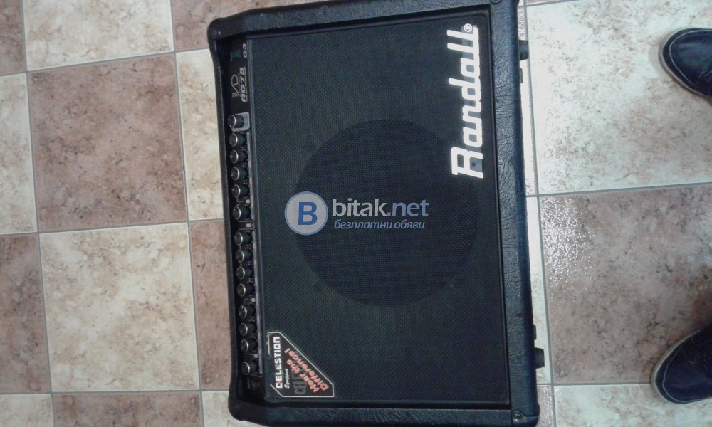 Tube Mosfet Guitar Amp RANDALLRG75G3