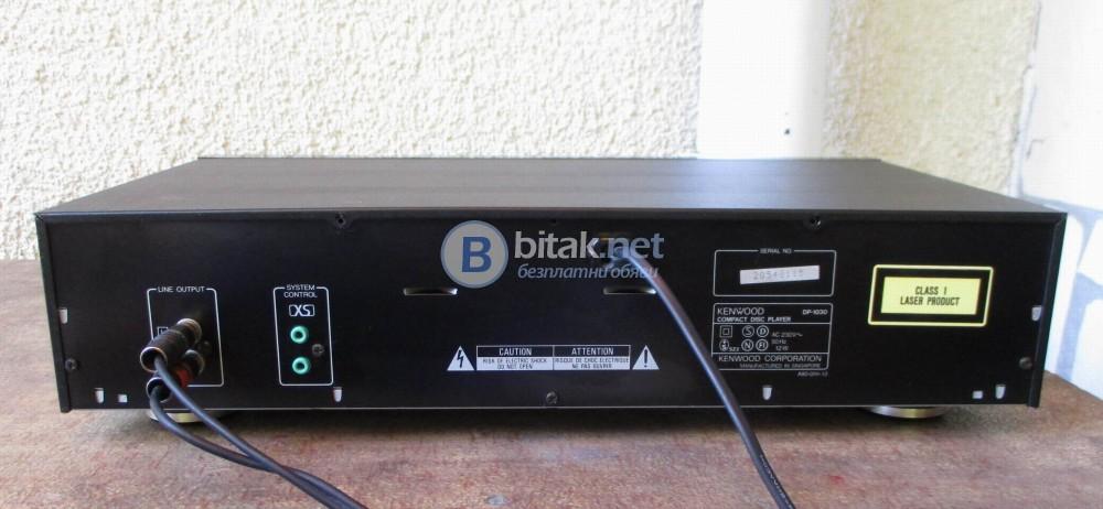 KENWOOD  DP1030 – Едно битов СД плейър.
