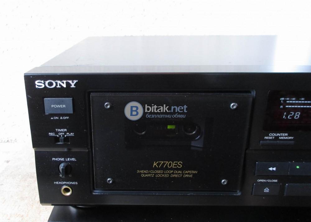 SONY TC-K – 770ES – Един от най добрите декове на фирмата в уникално състояние.