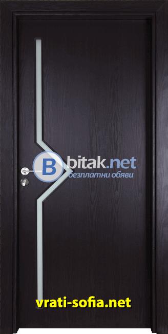 Интериорна врата Gama 201, цвят Венге