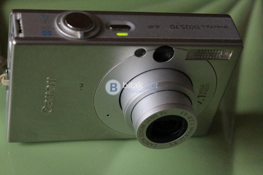 Фотоапарат Canon със дефект