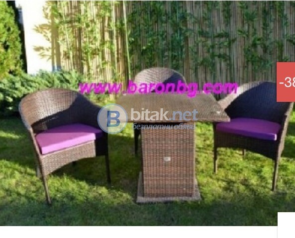 столове от  синтетичен раран