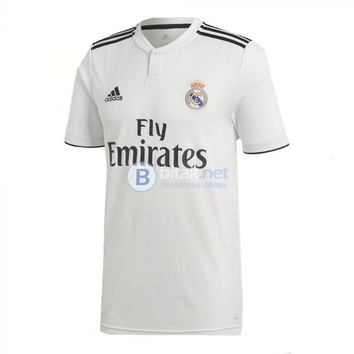 Реал Мадрид официални бели екипи сезон 2018/19