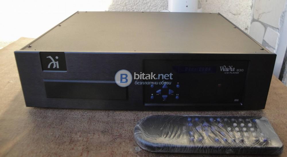 Аудиофилски плейър WADIA 830 – Личен компонент.