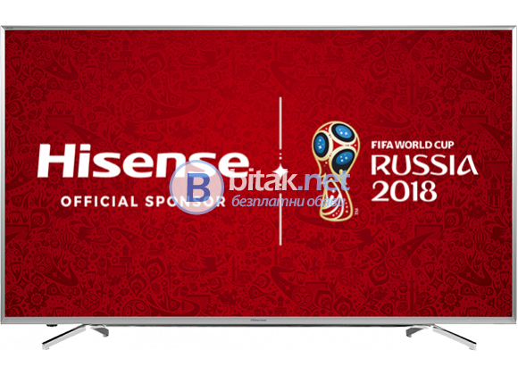 Нови LED, SMART, UHD, 4K  TV HISENSE  с гаранция LTDN40K321UWTSEU