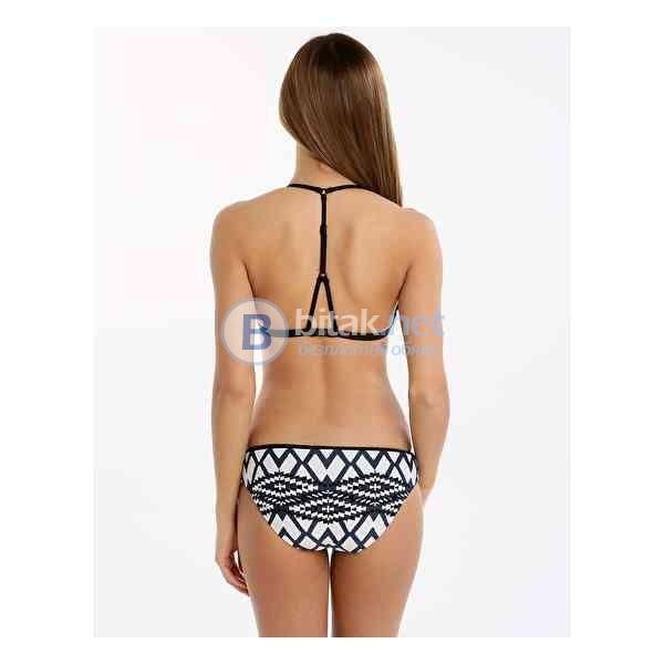 Л размер, Оригинален дизайнерски дамски бански горна част, махащи се дунапренови подплънкии бикина в