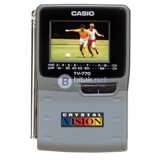 Портативен аналогов телевизор Casio - Japan