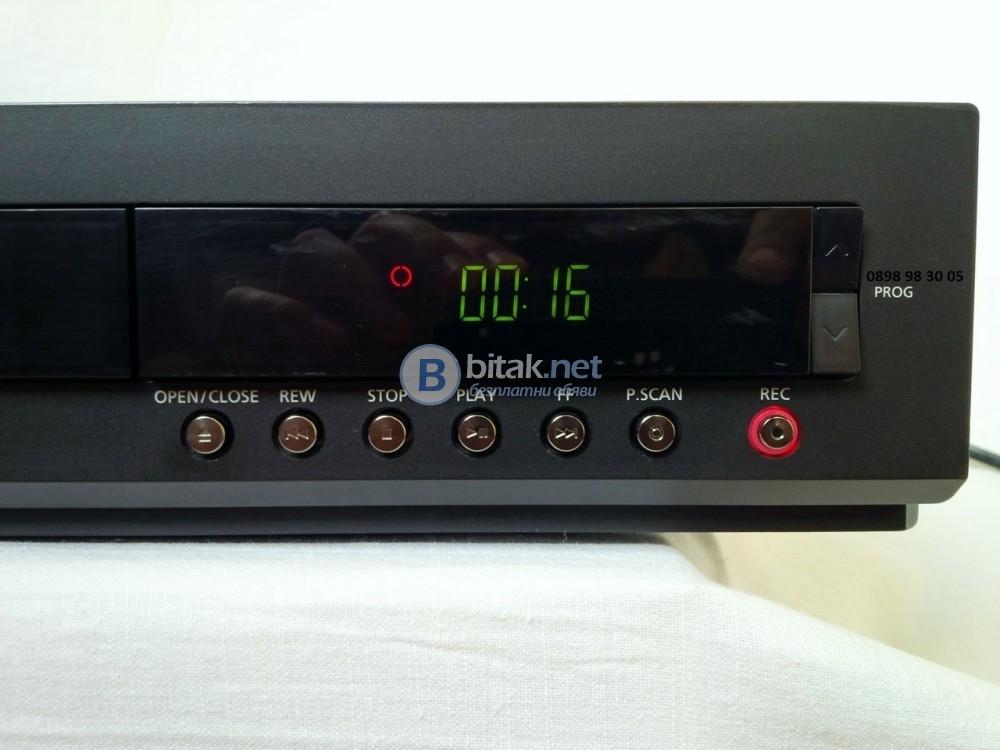 SAMSUNG DVD-HR725, HDMI DVD/CD/MP3 плеър/рекордър със 160GB хард диск,цена като нов €700