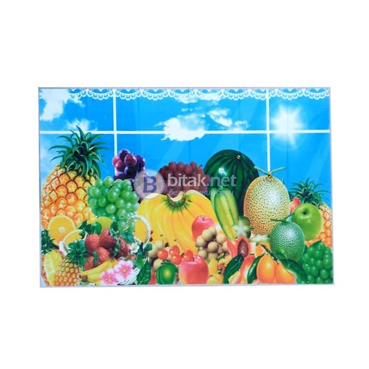 Декоративни стикери за плочки кухня баня декорация за кухненски гръб стена Размер 60x90см