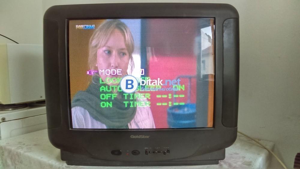Телевизор Goldstar,21 инча