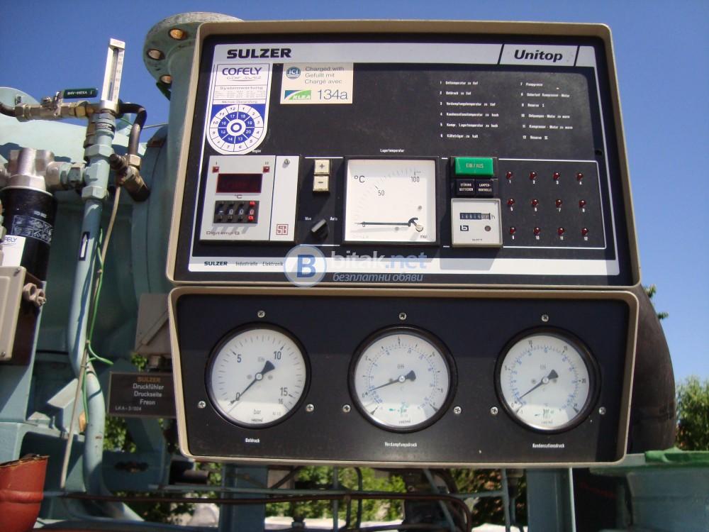 компресор турбинен с управление